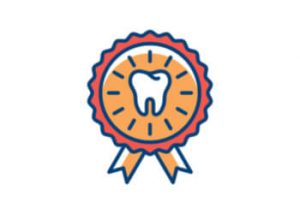 tooth logo for board certified dentists