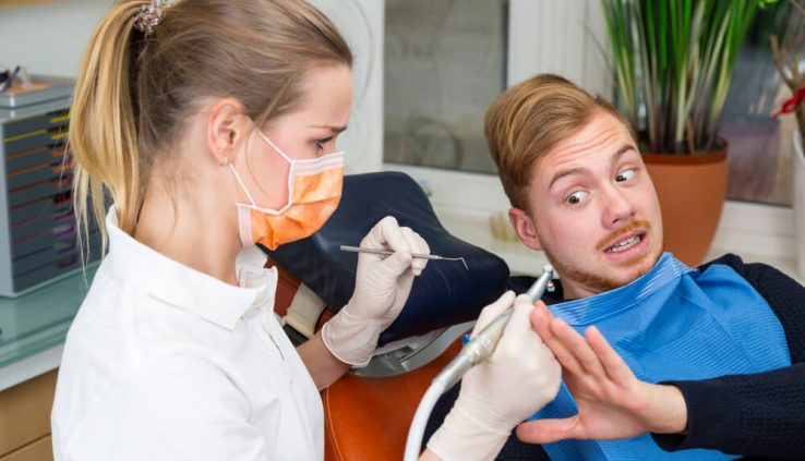 overcome your dental phobia in dentist visits