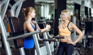 workout buddies on break